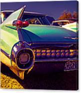 '59cadillac Fins Canvas Print
