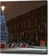 5th And G At Christmas 2012 Canvas Print