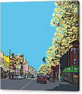 5th Ave And Garfield Park Slope Brooklyn Canvas Print