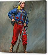 5th New York Veteran Volunteers - Duryee's Zouaves 1864 Canvas Print