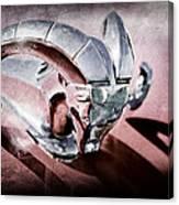 1952 Dodge Ram Hood Ornament Canvas Print