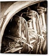 1957 Chevrolet Corvette Grille Canvas Print