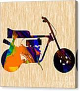 1960s Mini Bike Canvas Print