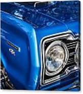 1967 Plymouth Belvedere Gtx 440 Painted  Canvas Print