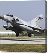 A Qatar Emiri Air Force Mirage Canvas Print