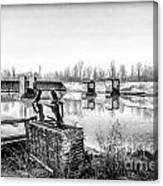 Abandoned Sugarmill Canvas Print