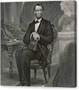 Abraham Lincoln (1809 - 1865) U Canvas Print