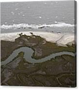 Aerial Near Jekyll Island Canvas Print