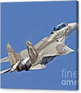 An F-15i Raam Of The Israeli Air Force Canvas Print