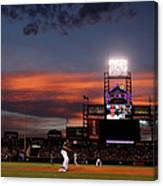 Arizona Diamondbacks V Colorado Rockies Canvas Print