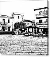 Arzachena Square Canvas Print