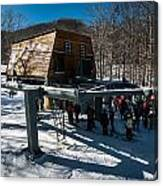 At The Ski Resort Canvas Print