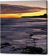 Bamburgh Castle At Sunrise Canvas Print