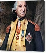 Baron Friedrich Von Steuben Canvas Print
