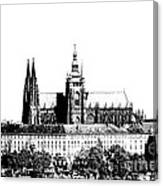 Cathedral Of St Vitus Canvas Print