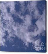 Clouds In The Sky Canvas Print