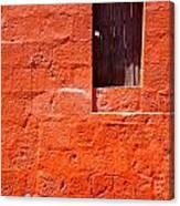 Colorful Old Architecture Details Canvas Print