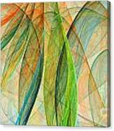 Colorful Silk Scarf Canvas Print