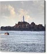Corbiere Lighthouse - Jersey Canvas Print