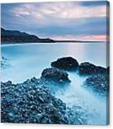 Blue Crete. Canvas Print