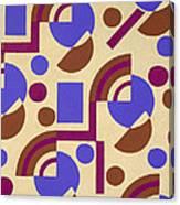 Design From Nouvelles Compositions Decoratives Canvas Print