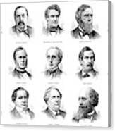 Electoral Commission, 1877 Canvas Print
