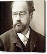 Emile Zola (1840-1902) Canvas Print