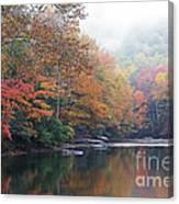 Fall Color Williams River Canvas Print