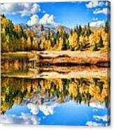 Fall Refelctions Canvas Print