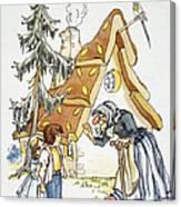 Grimm: Hansel And Gretel Canvas Print