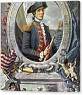 John Paul Jones (1747-1792) Canvas Print