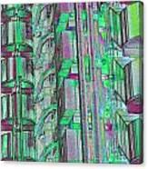 Lloyd's Building London Art Canvas Print