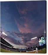 Los Angeles Dodgers V Kansas City Royals Canvas Print