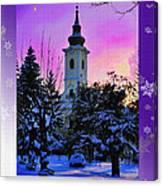 Christmas Card 21 Canvas Print