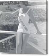 Miss Florida 1960 Canvas Print