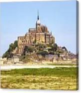 Mont Saint-michel - Normandy Canvas Print