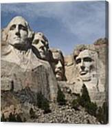 Mount Rushmore Canvas Print