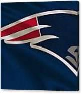 New England Patriots Uniform Canvas Print