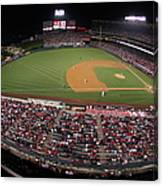 Oakland Athletics V. Los Angeles Angels Canvas Print