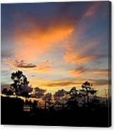 Outer Banks North Carolina Sunset Canvas Print