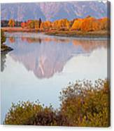 Oxbow Bend Grand Teton National Park Canvas Print