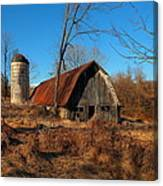 Paeonian Springs Barn Canvas Print