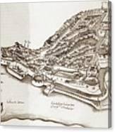 Portuguese Outpost Canvas Print
