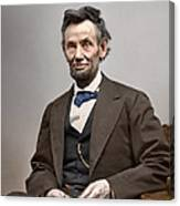 President Abraham Lincoln 6 Canvas Print