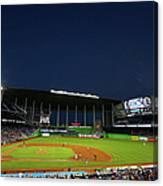 San Diego Padres V Miami Marlins 6 Canvas Print