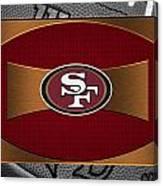 San Francisco 49ers Canvas Print