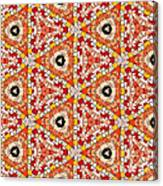 Seamlessly Tiled Kaleidoscopic Mosaic Pattern Canvas Print