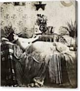Sleeping Woman, C1900 Canvas Print
