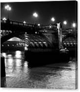 Southwark Bridge London Canvas Print