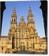 Spain. Santiago De Compostela Canvas Print